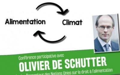 Conférence participative avec Olivier de Schutter