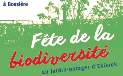 Fête de la biodiversité – 2 juin 2019