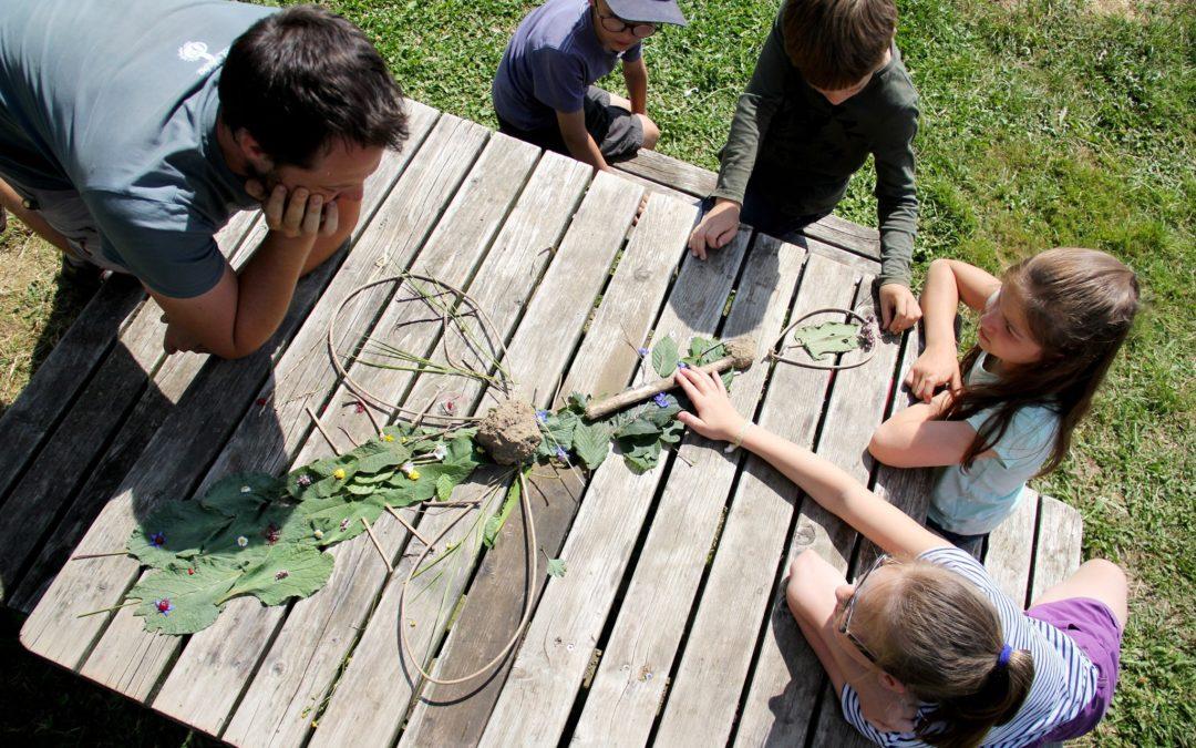 Stage nature et cuisine : à la découverte des plantes sauvages – 17-21 août 2020 – ANNULE